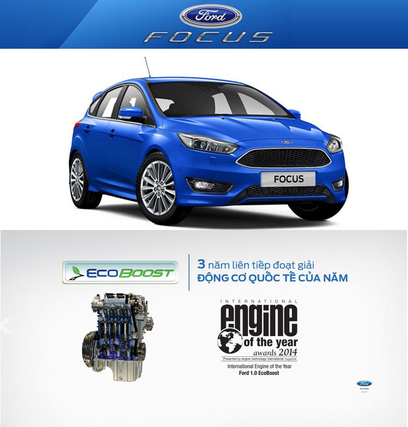 dong co ecoboost ford focus